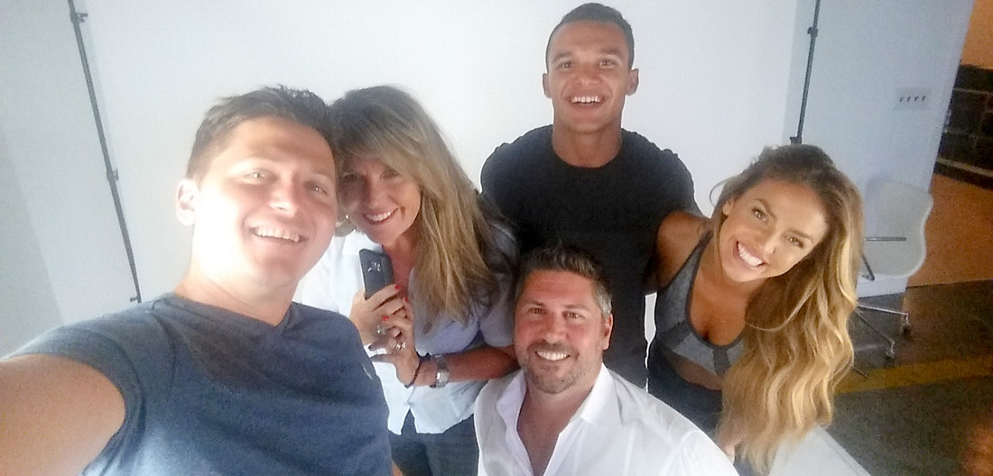 April, Alex, Neal, Loren and Chris at a FOXERS Shoot!