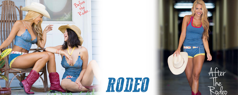The Rodeo Collection is a throwback to our first collection Country Girl