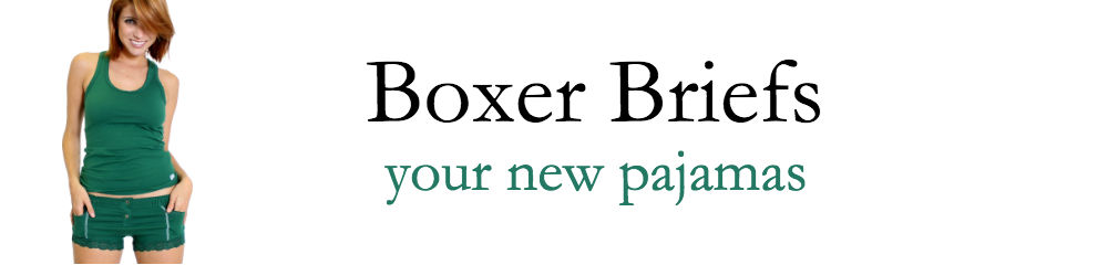 FOXERS Women's Boxer Briefs, your new pajamas