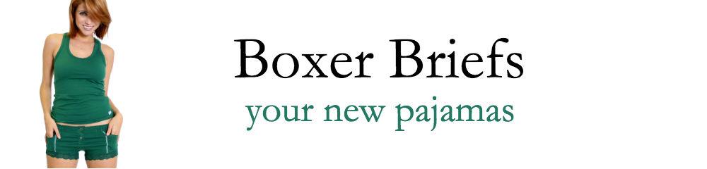FOXERS Women's Boxer Briefs, your new pajamas