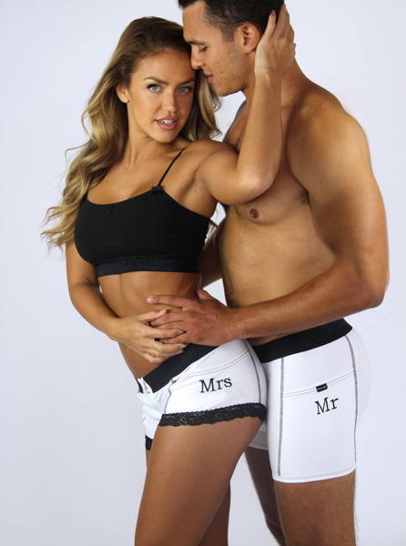 006ad1419de Couples Matching Underwear by FOXERS - FOXERS