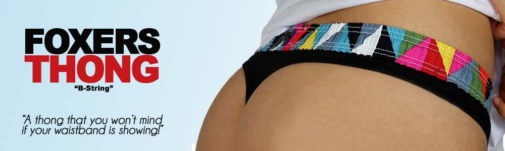 B-String Thongs from FOXERS